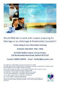 Information Evening - Catholic Marriage Care Service @ Accord Belfast Centre | United Kingdom