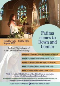 Fatima Comes to Down and Connor