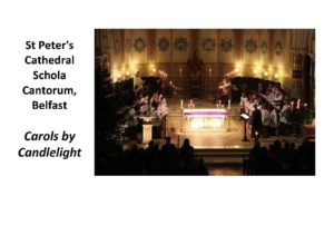 Carols by Candlelight @ St Peter's Cathedral, Belfast