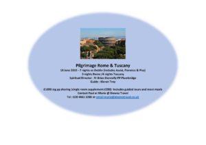 Pilgrimage Rome & Tuscany