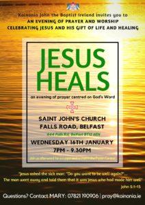 An Evening of Prayer and Worship @ St John's Church