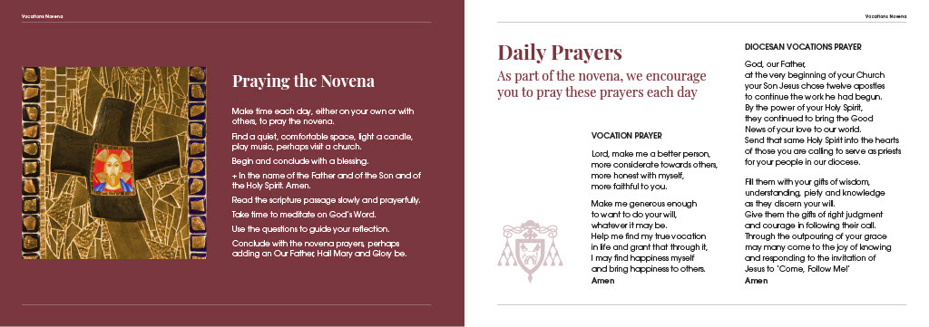 Vocations Novena – 03 May 2019 to 11 May 2019 | Diocese of
