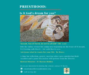 Online Diocesan Vocations Retreat